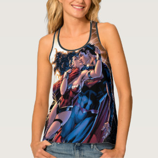 Justice League Comic Cover #12 Variant Tank Top