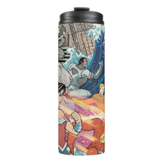 Justice League Comic Cover #15 Variant Thermal Tumbler