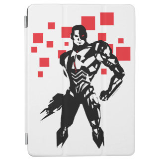 Justice League | Cyborg Digital Noir Pop Art iPad Air Cover