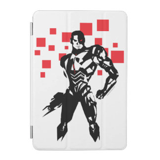Justice League | Cyborg Digital Noir Pop Art iPad Mini Cover