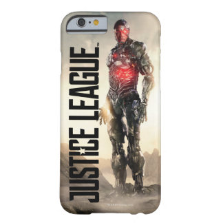 Justice League | Cyborg On Battlefield Barely There iPhone 6 Case
