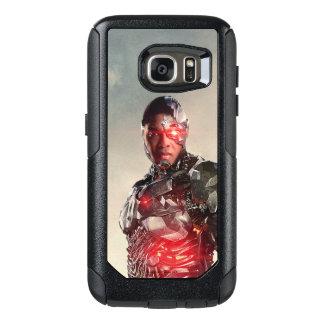Justice League | Cyborg On Battlefield OtterBox Samsung Galaxy S7 Case