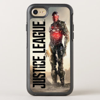 Justice League | Cyborg On Battlefield OtterBox Symmetry iPhone 8/7 Case