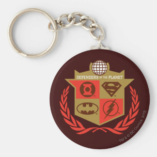 Justice League Defenders of the Planet Key Ring