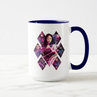 Justice League | Diamond Galactic Group Panels Mug