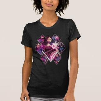 Justice League | Diamond Galactic Group Panels T-Shirt