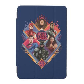Justice League | Diamond Hatch Group Badge iPad Mini Cover