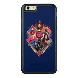 Justice League | Diamond Hatch Group Badge OtterBox iPhone 6/6s Plus Case