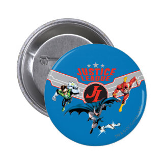 Justice League Flying Air Badge and Heroes