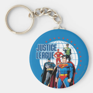 Justice League Global Heroes Key Ring