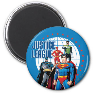 Justice League Global Heroes Magnet