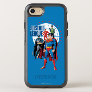 Justice League Global Heroes OtterBox Symmetry iPhone 8/7 Case