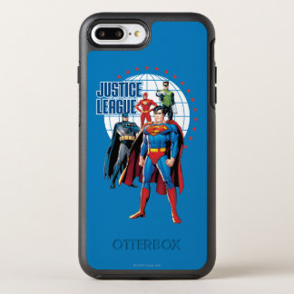 Justice League Global Heroes OtterBox Symmetry iPhone 8 Plus/7 Plus Case