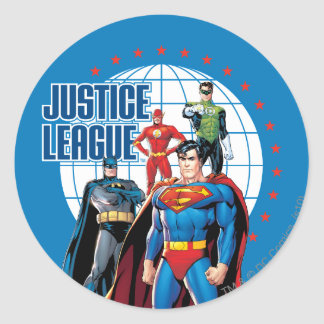 Justice League Global Heroes Sticker