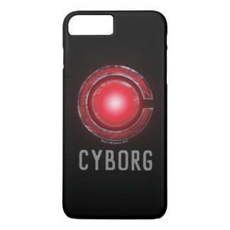 Justice League | Glowing Cyborg Symbol iPhone 8 Plus/7 Plus Case