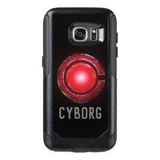 Justice League | Glowing Cyborg Symbol OtterBox Samsung Galaxy S7 Case