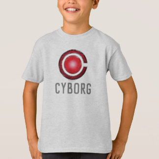 Justice League | Glowing Cyborg Symbol T-Shirt