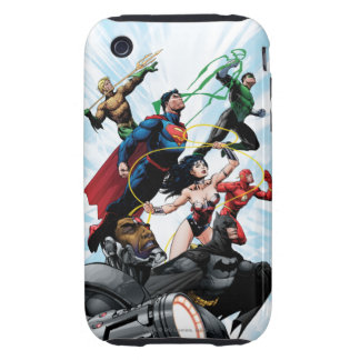 Justice League - Group 1 Tough iPhone 3 Covers