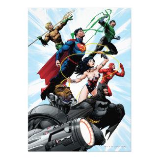 Justice League - Group 1 Custom Invite