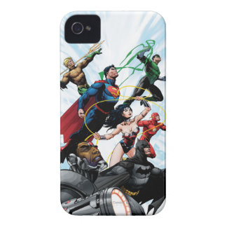 Justice League - Group 1 iPhone 4 Case-Mate Cases