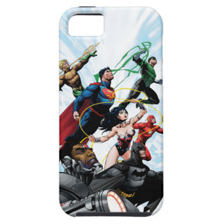 Justice League - Group 1 iPhone 5 Cover