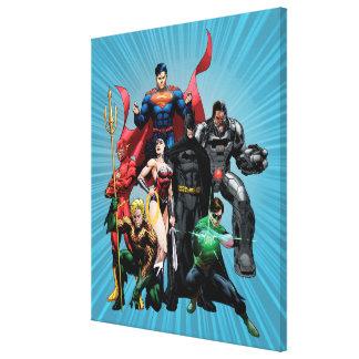 Justice League - Group 2 Canvas Print