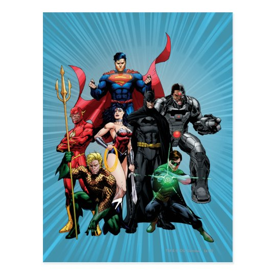 Justice League - Group 2 Postcard