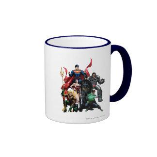 Justice League - Group 2 Ringer Mug