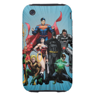 Justice League - Group 2 Tough iPhone 3 Cover