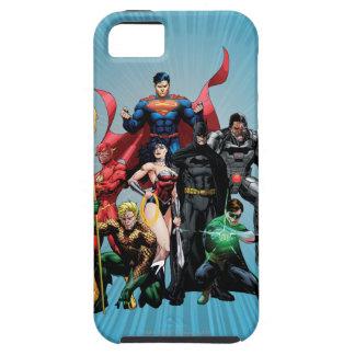 Justice League - Group 2 Tough iPhone 5 Case