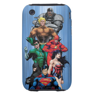 Justice League - Group 3 Tough iPhone 3 Cover