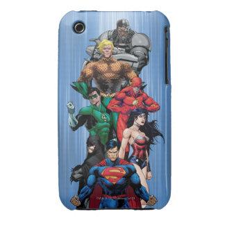 Justice League - Group 3 iPhone 3 Case