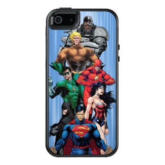 Justice League - Group 3 OtterBox iPhone 5/5s/SE Case