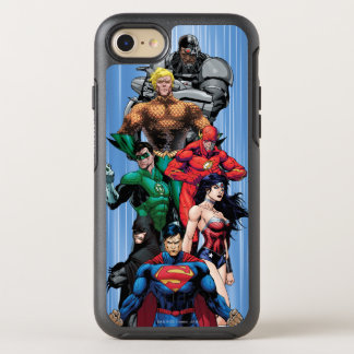 Justice League - Group 3 OtterBox Symmetry iPhone 8/7 Case