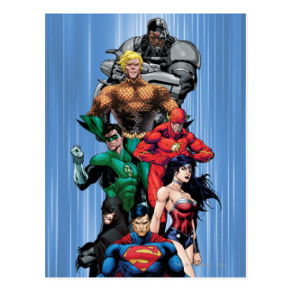 Justice League - Group 3 Postcard