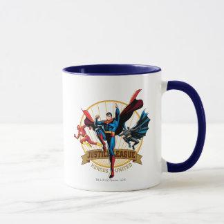 Justice League Heroes United Mug