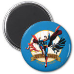 Justice League Heroes United Refrigerator Magnets