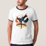 Justice League Heroes United T Shirt