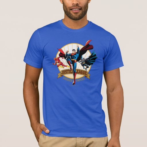 Justice League Heroes United T-Shirt