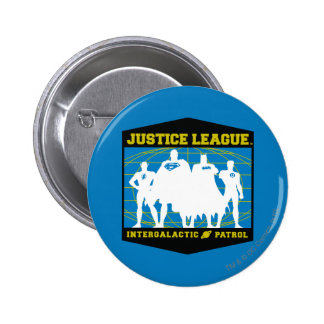 Justice League Intergalactic Patrol 6 Cm Round Badge