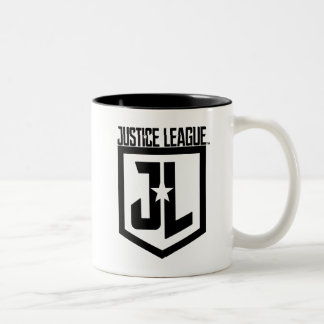 Justice League | JL Shield Two-Tone Coffee Mug