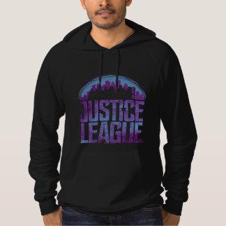 Justice League   Justice League City Silhouette Hoodie