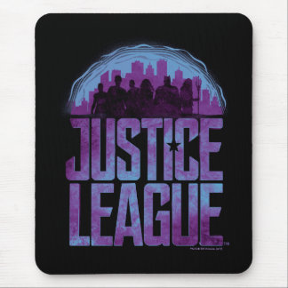 Justice League | Justice League City Silhouette Mouse Mat