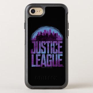 Justice League | Justice League City Silhouette OtterBox Symmetry iPhone 8/7 Case