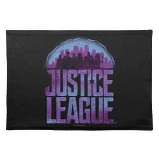Justice League | Justice League City Silhouette Placemat