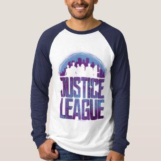 Justice League   Justice League City Silhouette T-Shirt