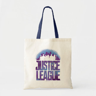 Justice League | Justice League City Silhouette Tote Bag