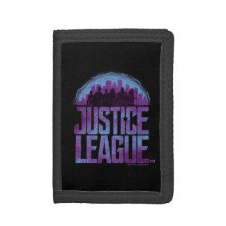 Justice League | Justice League City Silhouette Tri-fold Wallets