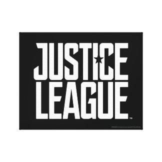 Justice League | Justice League Logo Canvas Print