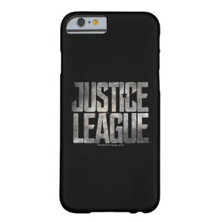 Justice League | Justice League Metallic Logo Barely There iPhone 6 Case